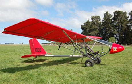RANS S-17 Stinger ZK-EEE