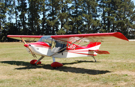 RANS S-6S Coyote ZK-DRR
