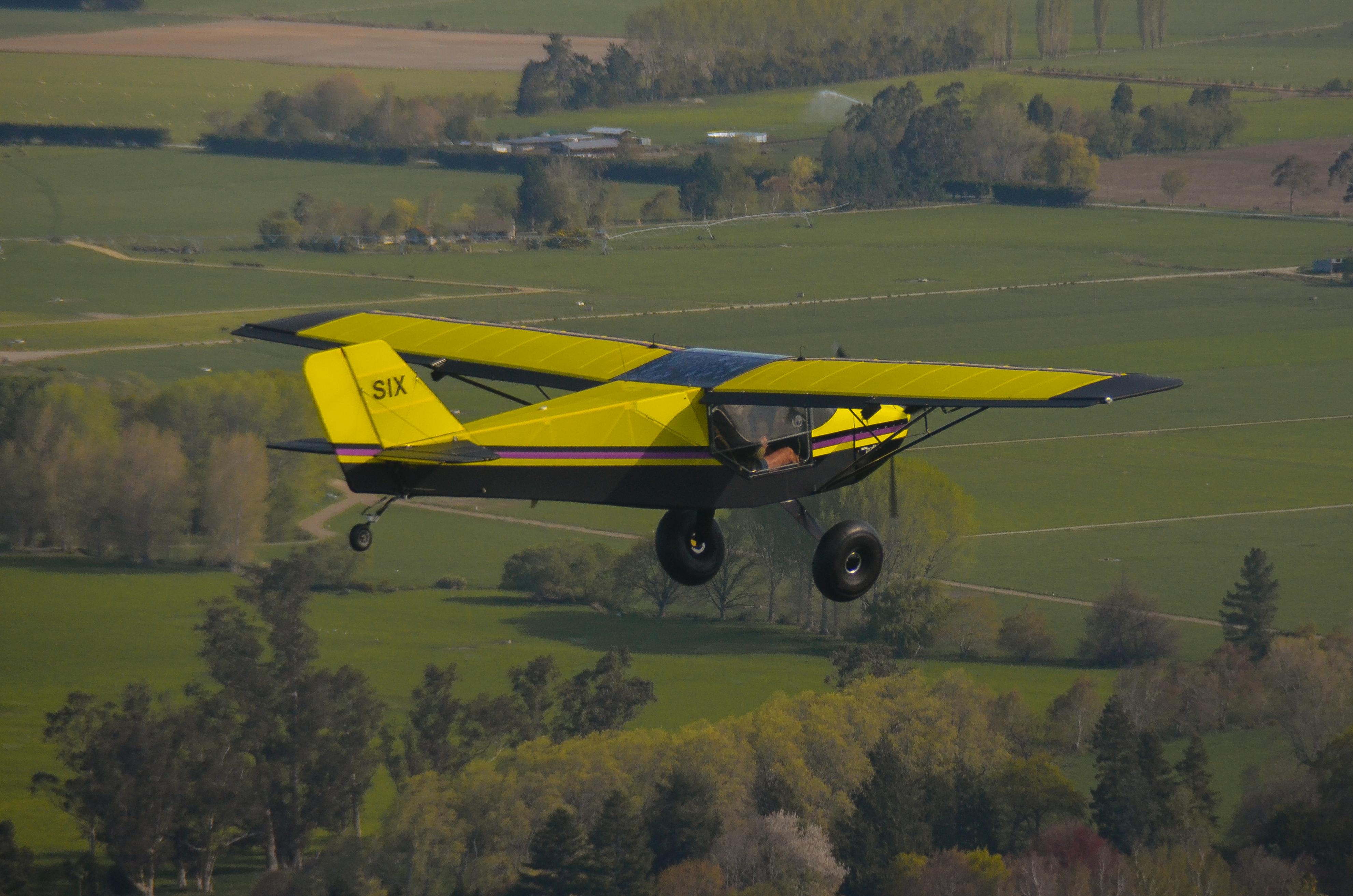 RANS S-6ES Coyote ZK-SIX