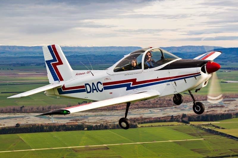 Geraldine Flying Group's AESL Airtourer ZK-DAC