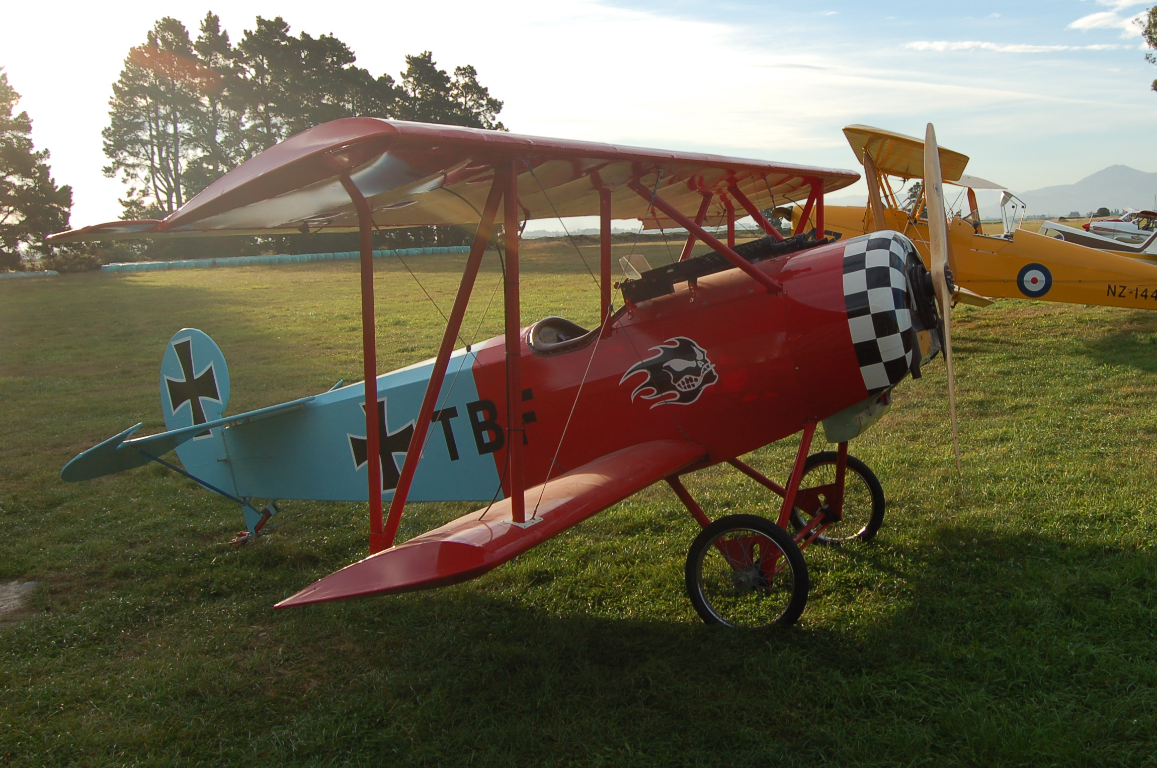 Localy Based Aerodrome Fokker D.VI
