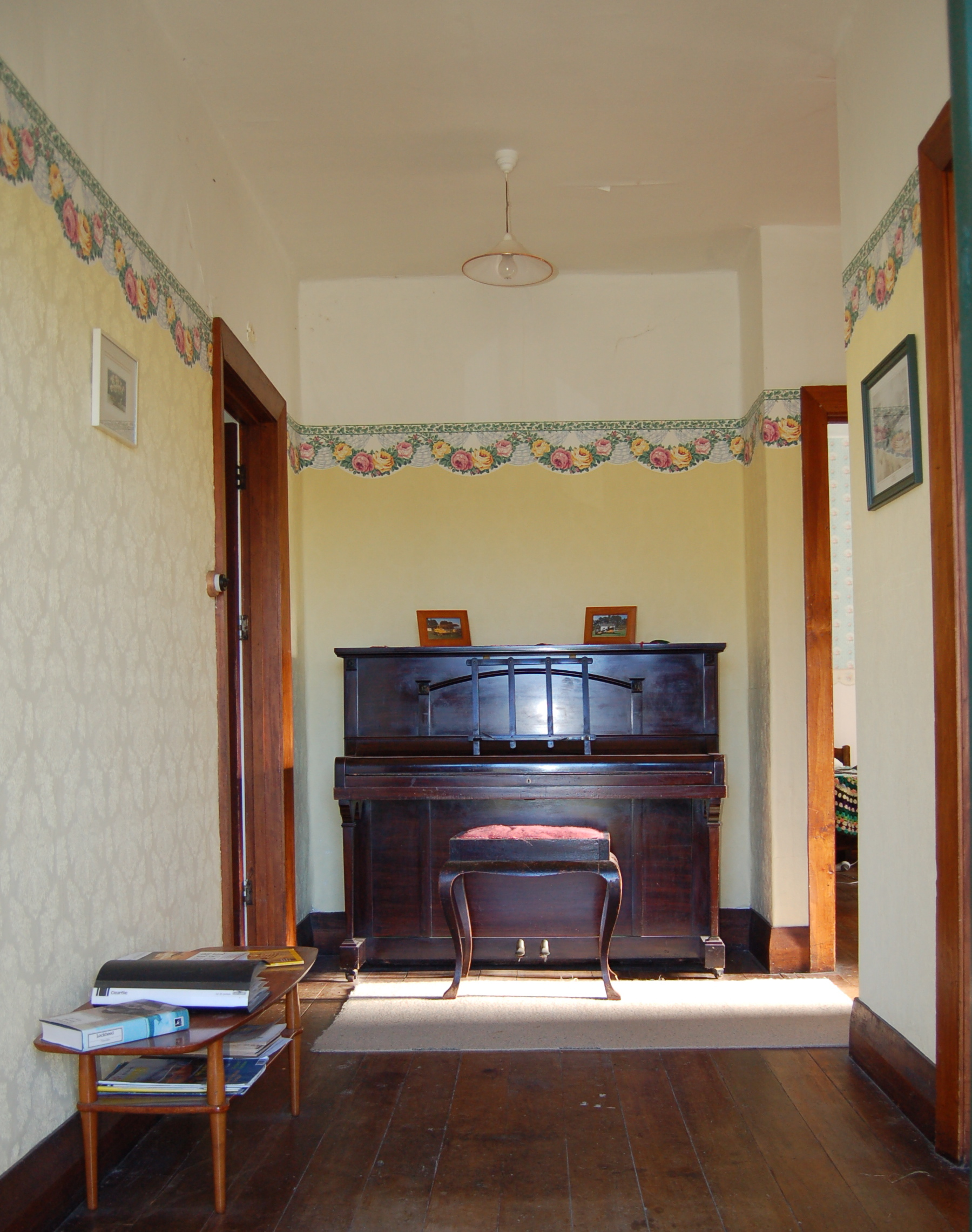Hallway and Piano