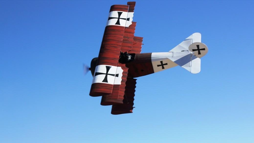 Airdrome Fokker DR1 Triplane