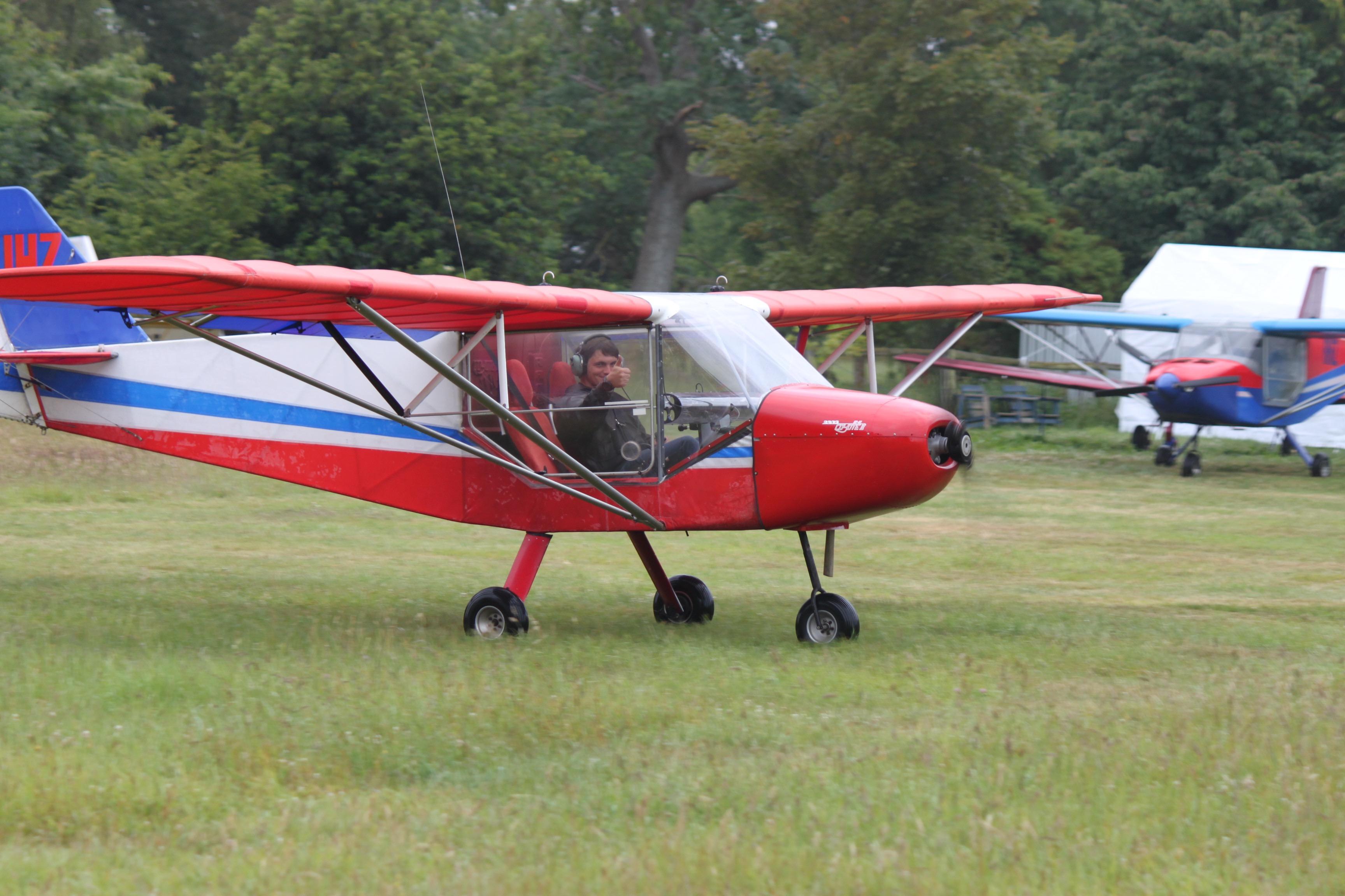 #1 RANS S-6ES Trike ZK-JHZ