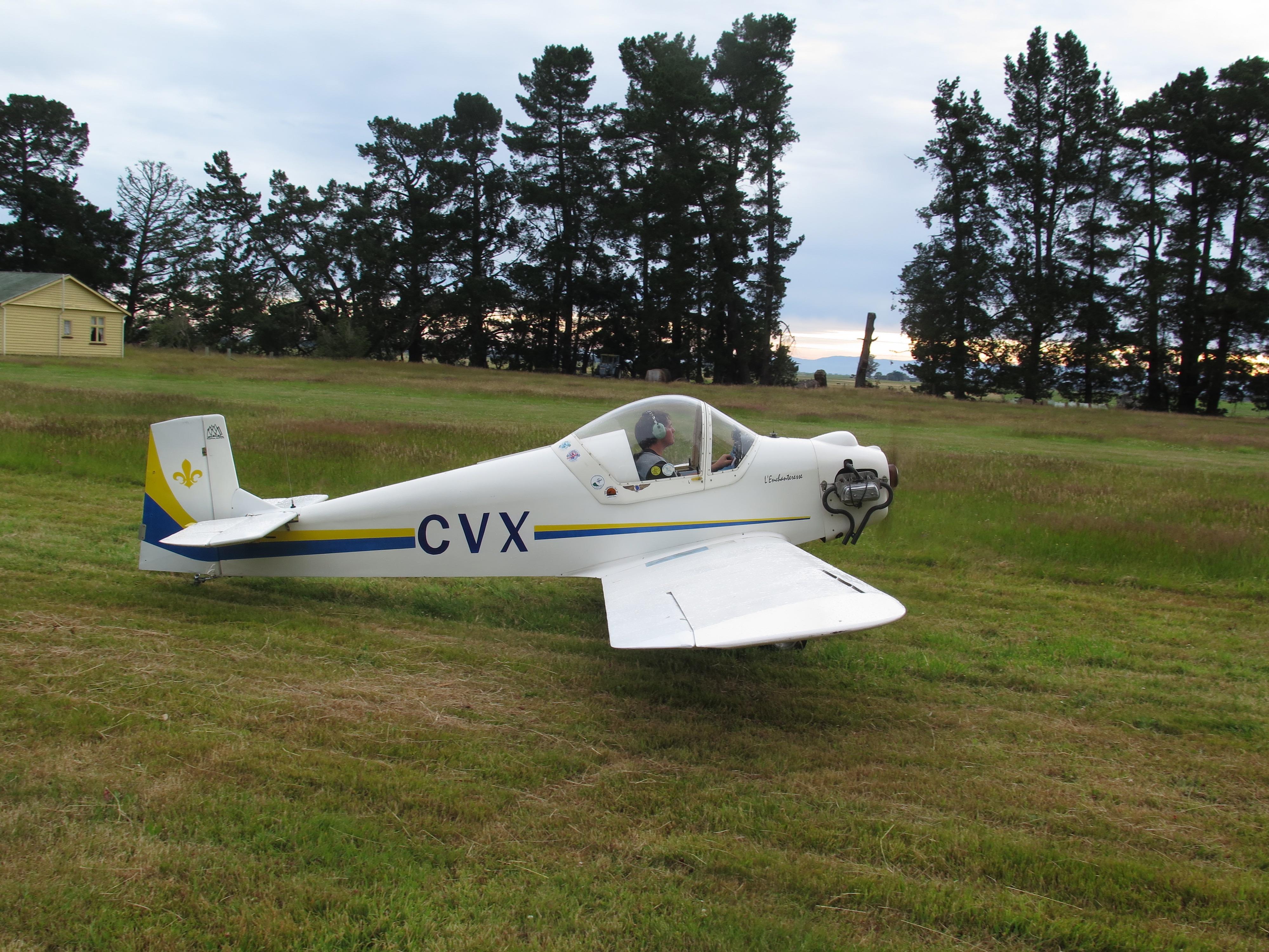 #15 Druine Turbulent ZK-CVX