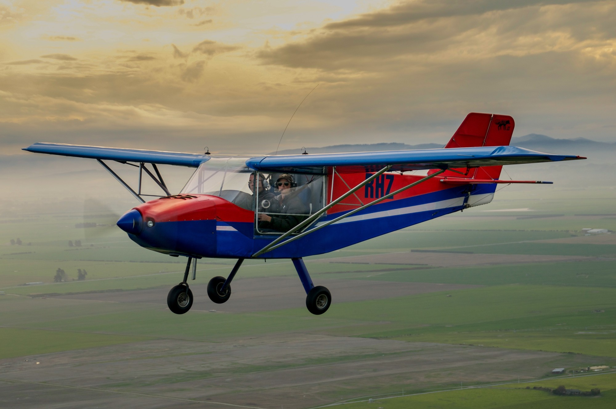 Geraldine Flying Group's RANS S-6ES Trike ZK-RHZ